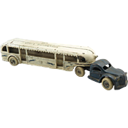 Arcade Greyhound GMC Diecast People Mover Truck c1930