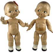 "c1940 Campbell's Soup Kids Pair 12"" by Horsman"