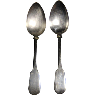 Bruckmann and Sohne serving spoons