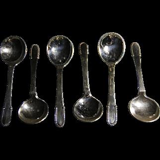 Georg Jensen beaded sugar spoon
