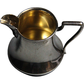 19th Century Bohm silver pitcher