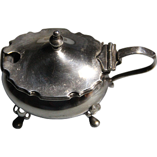 19th century English Mustard Pot