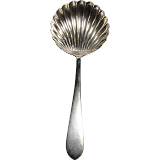 20th century S.Kirk sterling berry/casserole spoon
