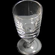 Steuben Crystal simple water goblet