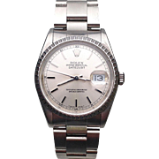 Stainless Steel Men's Rolex Datejust