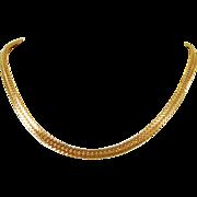 14K Gold Fancy Link Chain