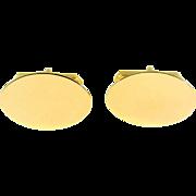 14k Yellow Gold Cufflinks
