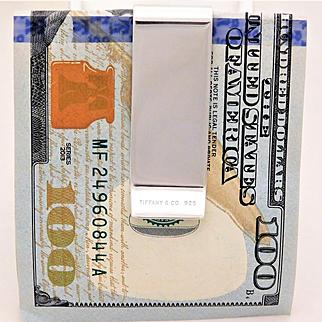 Vintage Tiffany & Co. Sterling Silver Money Clip