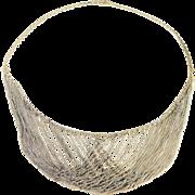 Stunning Vintage Sterling Silver Multi-Strand Chandelier Necklace