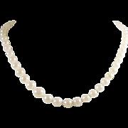 Chic Vintage Graduating Pearl Necklace