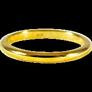 Ladies' Classic 14kt Gold Wedding Band