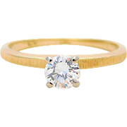 Diamond Solitaire Engagement Ring