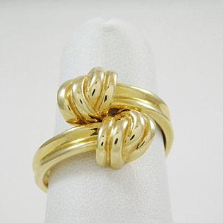 """Ladies """"Knot"""" Ring"""