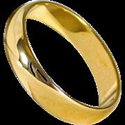 Polished 14kt Yellow Gold Wedding Band