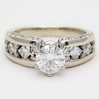 2.25ct Vintage Diamond Engagement Ring