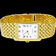14k Gold Vintage Gentleman's Genève Wristwatch