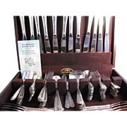 Westmorland - Lady Hilton Sterling Silver 107 Piece Flatware Set
