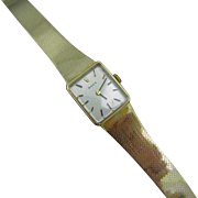 Gorgeous 14k Yellow Gold Ladies 1970's Rolex Watch with Cal. 1400 Movement