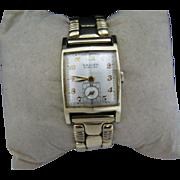 Vintage - 1944 Gruen Curvex Precision Watch 10k Gold Filled