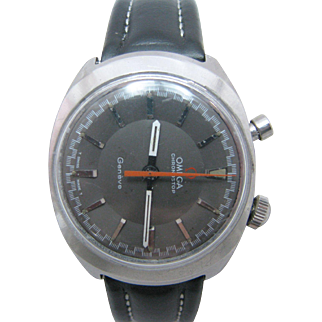 Vintage Omega Chronostop Geneve Driving Watch Late 1960's