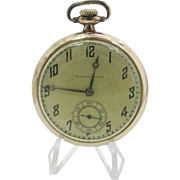Beautiful Vintage 1918 Hampden Pocket Watch - Gold Filled