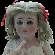 "9.5"" Antique 150.4 All Bisque Kestner Child Mint In Box"