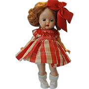 Darling Nancy Ann Storybook 1953 Auburn Muffie in original dress