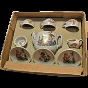 Adorable Vintage China Tea Set mint in box