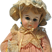 """10 1/2""""Antique Belton All Original with antique baby doll"""
