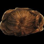 Dollspart Size 5-6 Brown Human Hair Doll Wig