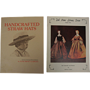 Handcrafted Straw Hats & Doll Home Library Series Books - Red Tag Sale Item