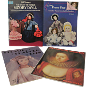 Four Paper doll books