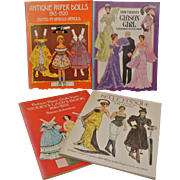 Four Paper Doll Books - Red Tag Sale Item