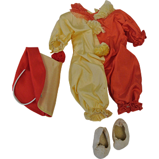 Strung Ginny Complete Clown Outfit-Near Mint