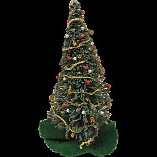 """Cute Vintage 7"""" Christmas Tree"""