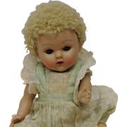 1950's Ginny Crib Crowd-Nice Color-Rare Brown Eyes-All Original