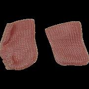 Pink Vintage Ginny, Muffie Socks-Near Mint