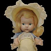 """1949 Painted Eye Ginny """"Julie"""" Near Mint & All Original"""