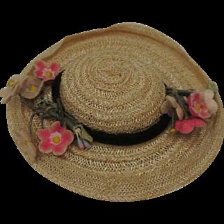 "1953 #73 Ginny Talon zipper hat  ""Afternoon"" series"