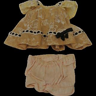 "1952 Ginny ""Linda"" #21 Kindergarten series dress"
