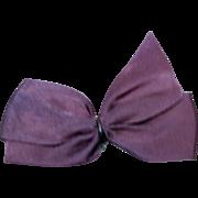 Vintage Original Ginny Purple Hair Bow