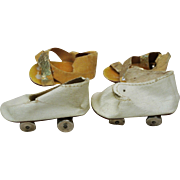 Two Pair Terri Lee Roller Skates & 1 Pair Shoes