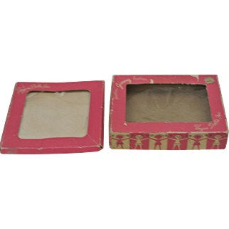 Two Vintage Ginny Doll Clothes Boxes