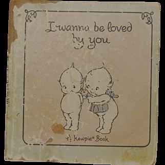 Adorable Old Kewpie Book