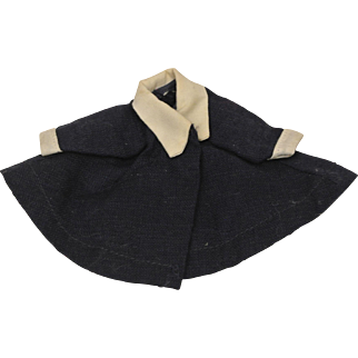 Cute Ginny Navy Coat-Ship Included