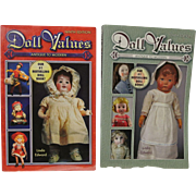 Two Doll Values Books by Linda Edwards