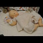 "18"" Baby Dear Rare Topknot Eloise Wilkins 1960-Original"