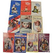 10 Patricia Smith's Doll Values Books