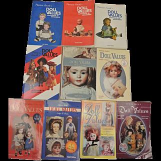 10 Patricia Smith's Doll Values Books