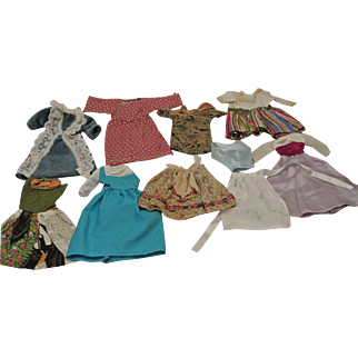 Vintage Lot of Teenage Size Doll Clothes